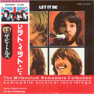 The BEATLES - Let It Be(Japanese Red Millenium Remaster)