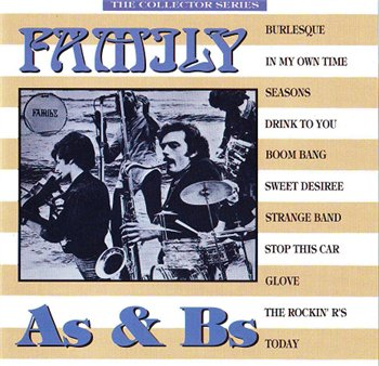 Family - SINGLES A & B (Compilation) 1992