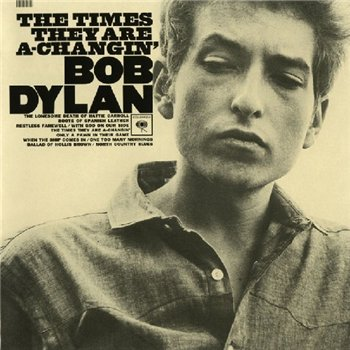BOB DYLAN:The Times They Are A-Changing (1964)