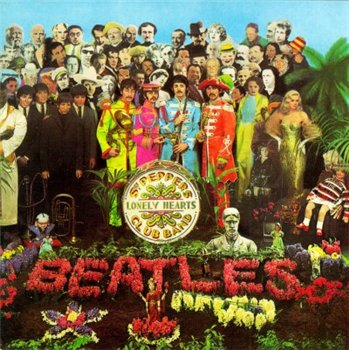 "The Beatles: © 1987 Original Masters ® 1967 ""Sgt. Pepper's Lonely Hearts Club Band"""