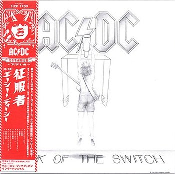 "AC-DC: © 2008 ® 1983 ""Flick Of The Switch"" (Japanese Press 2007-2008)"