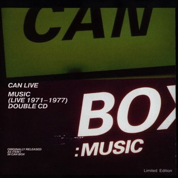 Can - 1999 - CAN LIVE Music (Live 1971-1977)