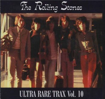"Rolling Stones - Ultra Rare Trax 10 CD : © 1989 ""VOL 10"""