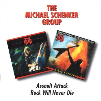 "The Michael Schenker Group: © 1982 & 84 ""Assault Attack & Rock Will Never Die""(Remastered at sound Recording Technology, Cambridge 1996)"