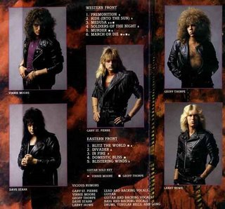Vicious Rumors - Soldiers Of The Night 1985