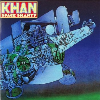 Khan (with Steve Hillage) - Space Shanty (Decca Records 2000) 1972