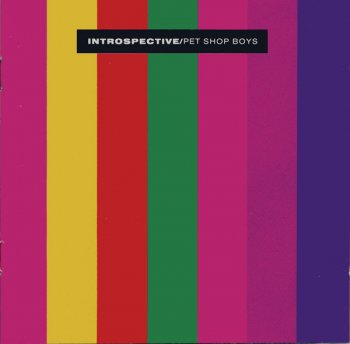 "PET SHOP BOYS –""Introspective""  (1988)"