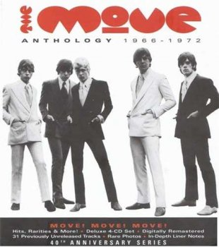 "The Move(Roy Wood, Jeff Lynne): © 2008 ""Anthology 1966-1972""[Remaster Edition 4CD]"