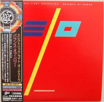"Electric Light Orchestra: © 1986 ""Balance Of Power""  Sony Music Japan (MHCP 1163)"