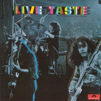 "Taste : © 1971 ""Live Taste""(With Rory Gallagher)"