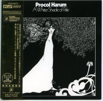 Procol Harum - A Whiter Shade of Pale +4 (Japanese K2 High Definition) 1967 (2006)
