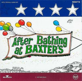 "Jefferson Airplane : © 1967 ""After Bathing at Baxter's"""