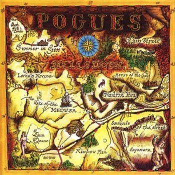 The Pogues - Hell's Ditch (Warner Music Reissue 2004) 1990