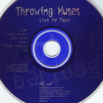 Throwing Muses - Live To Tape