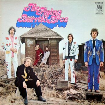 The Flying Burrito Brothers - The Guilded Palace Of Sin (A&M Records LP 2008 VynilRip 24/96) 1969