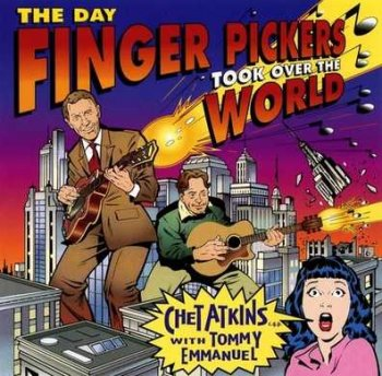 Chet Atkins with Tommy Emmanuel - The Day Finger Pickers Took Over The World  1997