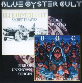 Blue Oyster Cult - Secret Treaties / Fire Of Unknown Origin 1974/1981