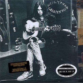 "Neil Young - Greatest Hits (Classic / Reprise LP & bonus 7"" VinylRip 24/96 Recorded 1969-1991) 2004"
