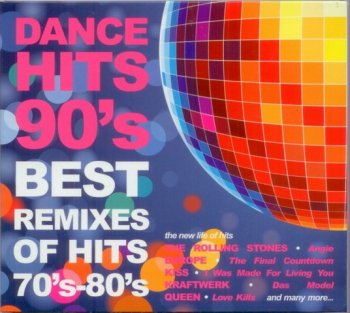 Dance Hits 90's - Best Remixes of Hits 70's-80's (2009) 2CD