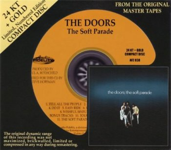 The Doors - The Soft Parade (Audio Fidelity 24K Gold HDCD 2009) 1969