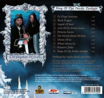 Luca Turilli - King of the Nordic Twilight 1999