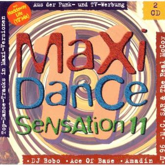 VA - MAXI DANCE SENSATION 11 (1993) 2CD