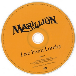 Marillion - Live from Loreley (2CD) - 1987 (Remastered, 2009)