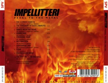 Impellitteri - Pedal To The Metal 2004
