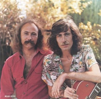 Crosby & Nash - Wind On The Water  (MCA Records 2000) 1975