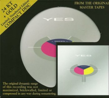 Yes - 90125 (Audio Fidelity 24K Gold HDCD 2009) 1983
