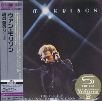 Van Morrison -  - It's Too Late To Stop Now (2SHM CD Japan Papersleeve 2008) 1974