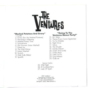 The Ventures © - 1962 Mashed Potatoes and Gravy & 1962 Going to The Ventures Dance Party