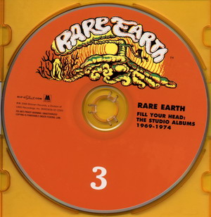 Rare Earth © - Fill Your Head: The Studio Albums 1969-1974 (3CD/3-CD Box Set)