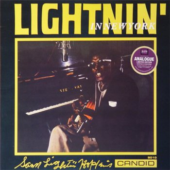 Sam Lightnin' Hopkins - Lightnin' In New York (Pure Pleasure LP VinylRip 24/96) 1960
