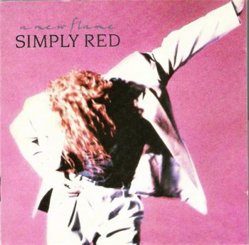 Simply Red - A New Flame (East West Records) 1989