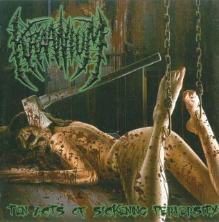 Kraanium-Ten Acts Of Sickening Perversity-2008