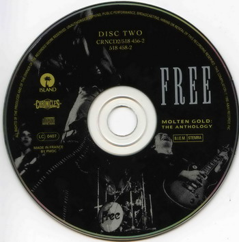 Free © - 1993 Molten Gold:The Anthology Double Disc