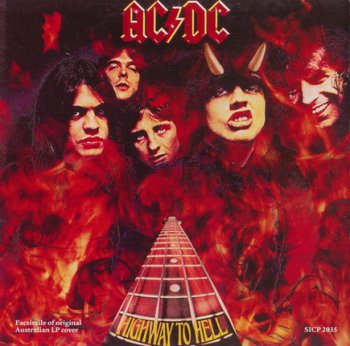 AC DC : ©  1979  HIGHWAY TO HELL  (JAPAN REISSUE 2008 DIGIPACK SICP 2035)