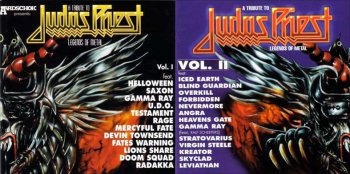 A Tribute to Judas Priest - Legends of Metal Vol. 1 - 2 1996