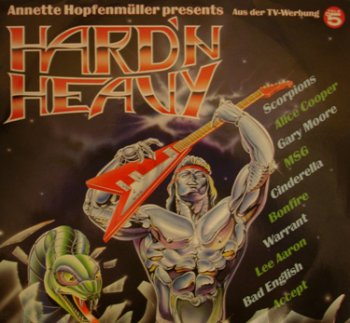 Various Artists - Hard'N Heavy - 2LP (compilation) - 1990 (Vinyl RIP 1648)