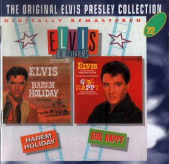 The Original Elvis Presley Collection : © 1993 ''Elvis Double Features'' (Harum Holiday & Girl Happy) (50CD's)