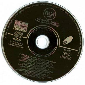 The Original Elvis Presley Collection : © 1993 ''Elvis Double Features'' (Harum Holiday & Girl Happy) (50CD's)