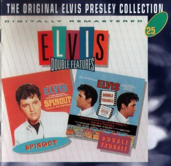 The Original Elvis Presley Collection : © 1994 ''Elvis Double Features'' (Spinout & Double Trouble) (50CD's)