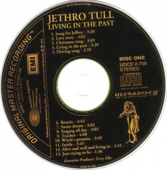 Jethro Tull : © 1972 ''Living In The Past '' (MFSL UDCD 2-708)(CD ONE)