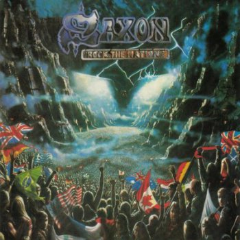Saxon - Rock the nations 1986 (Remastered edition with bonus tracks 2010)