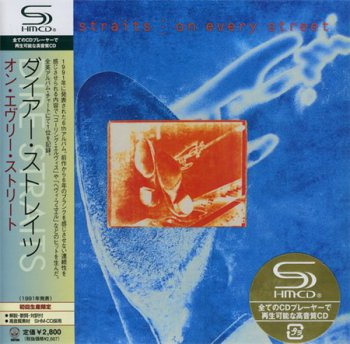 Dire Straits - On Every Street (Universal Music Japan MiniLP SHM-CD 2008) 1991