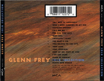 Glenn Frey (Eagles) © - 1995 Solo Collection