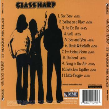 Glass Harp - It Makes Me Glad