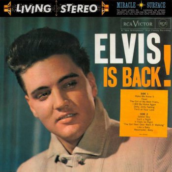 Elvis Presley : © 2005 ''Elvis is Back!''FTD (Follow That Dream,Sony BMG's Official CD Collectors Label)