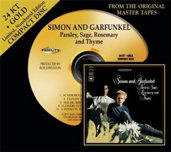 Simon And Garfunkel - Parsley, Sage, Rosemary & Thyme (AudioFidelity 24Karat + Gold HDCD 2010) 1966